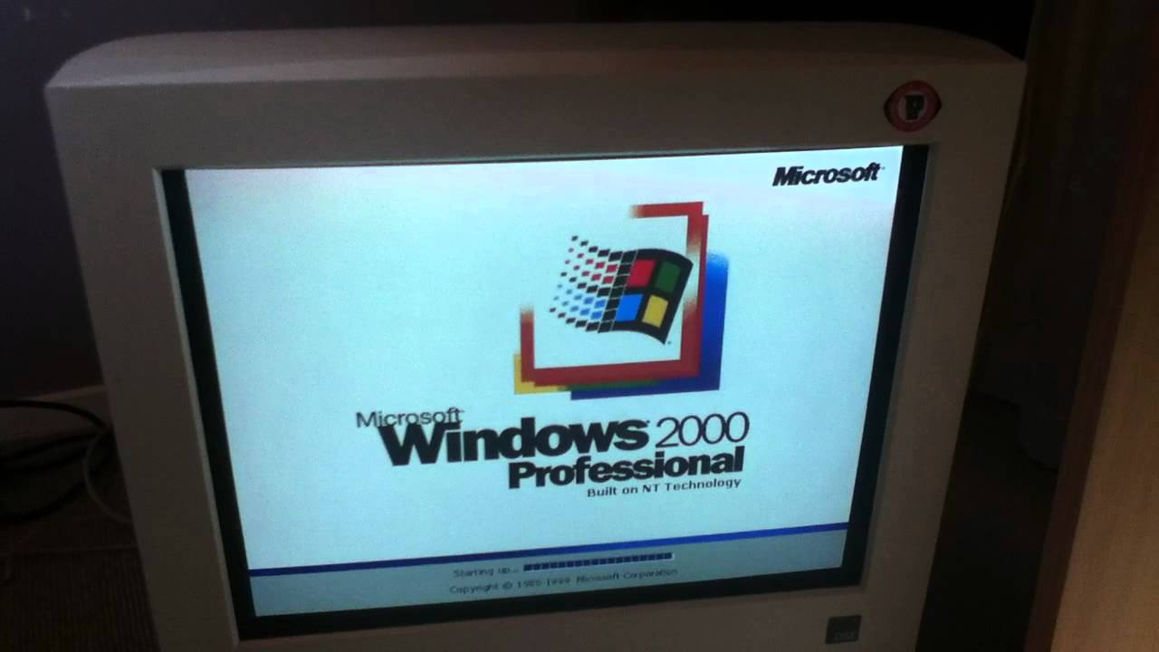 Windows 2000 beta startup and shutdown soundswmv youtube, windows.