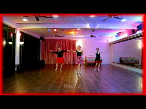 A Chinese Rumba - Line Dance