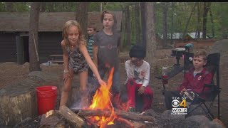 Girls Excited To Be Able To Join Boy Scouts