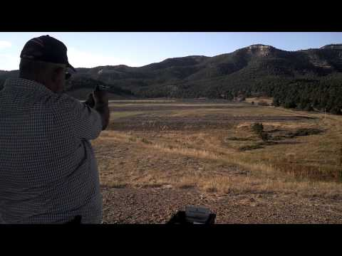 Shooting 200 yard steel chickens on NRA Whittington Center, Raton New Mexico