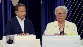 Erundina questiona Doria sobre mansão de 50 milhões de reais