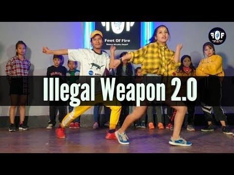 Illegal Weapon 2.0 – Street Dancer 3D | Choreography video by Mann Thapa