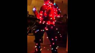 "Crazy Christmas cowboy Noah singing ""bells will be ringing"""
