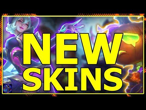 BEWITCHING ELISE AND PUMPKIN PRINCE AMUMU SKINS League Of Legends! SEASON 10 HARROWING 2020!