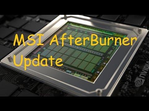 GTX 970 Overclocking- MSI Afterburner Update - YouTube