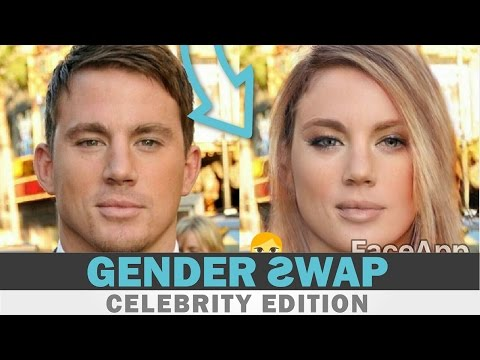 OMG CELEBRITY GENDER SWAP - FaceApp Guess The Celeb Face Swap