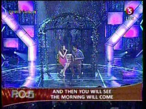 """Morissette Amon with Jay - R Siaboc singing """"I'm Your Angel"""""""