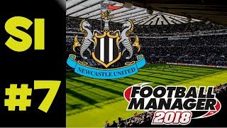 FM18 Newcastle United - Season 1 - Episode 7 - SWANSEA CITY & TOTTENHAM HOTSPUR !