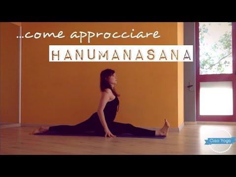 come approcciare hanumanasana la spaccata sagittale