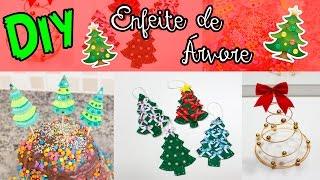 DIY - ENFEITE DE ÁRVORE DE NATAL - #PrihTodoDia07