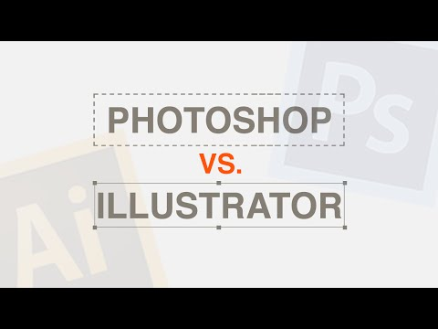 Photoshop vs Illustrator?