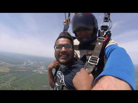 Tandem Skydive  Nikhil ffrom Delhi India kbj