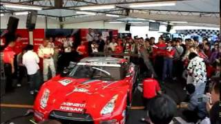 @nissan_ms [Motorsports Japanの日産ブースでのピ...]
