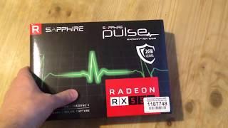 Sapphire Pulse Radeon RX 550. Прошивка и разгон