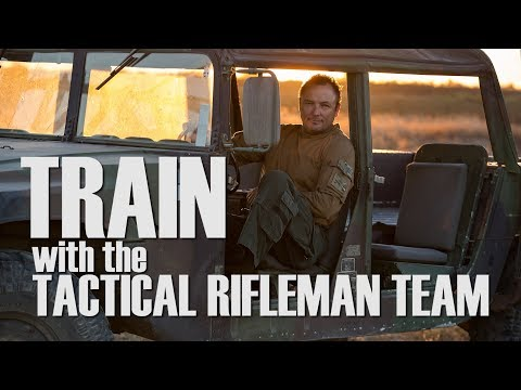 Train with the Tactical Rifleman Team | Combat Pistol and Carbine course