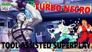 [TAS] - Street Fighter III: 4rd Strike Arranged Edition (TURBO CHEAT) - Necro - Super Art 1