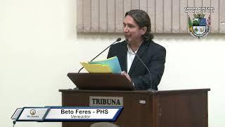 28ª Sessão Ordinária - Vereador Beto Feres
