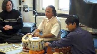 Suresh Talwalkar - Tabla and Taala demonstration @ University of Amsterdam