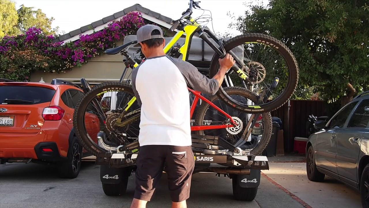 saris superclamp ex 4 bike rack