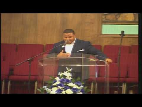 """Justin Walker Initial Sermon Psalms 37:1-4 """"Im delighted to be here"""""""