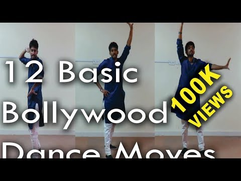 12 Basic Bollywood Dance Moves | Beginner Level | ABDC