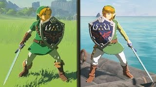 Zelda Breath of the Wild - How To Get The Tunic of Time & Tunic of Wind