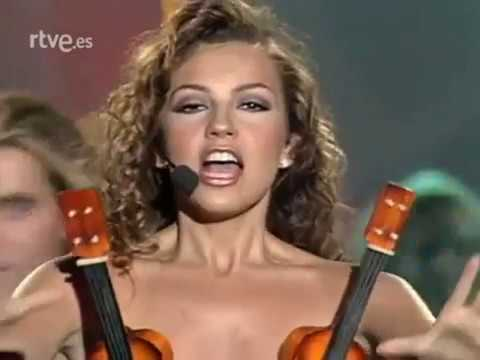 THALÍA Amor a la mexicana TVE 1997