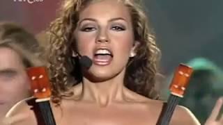 """THALÍA """"Amor a la mexicana"""" TVE 1997"""