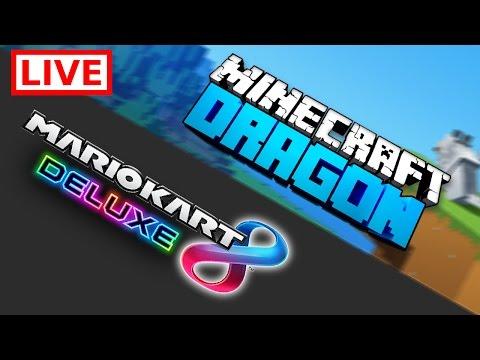 MINECRAFT DRAGON UND MARIO KART 8 DELUXE!