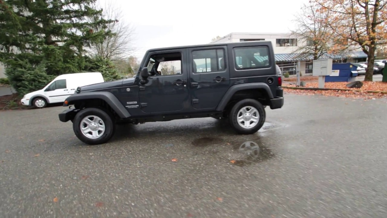 2017 Jeep Wrangler Unlimited Sport Rhino Clearcoat