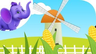 Blow Wind, Blow! - Nursery Rhyme with Karaoke