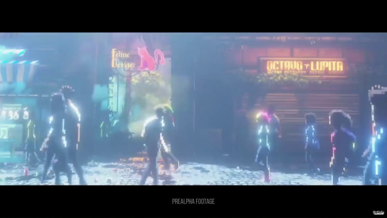 Take a first look at gameplay from cyberpunk sidescroller The Last Night
