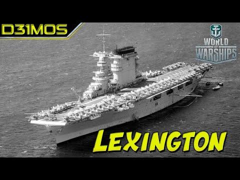 WoWS: Porta Aviões Lexington Tier 8