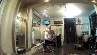 окрашивание нарошенных волос.mov