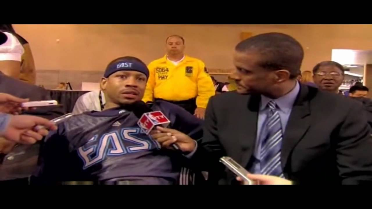 allen iverson: new haircut,new beginning & ai talking about change