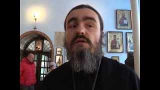 Молитва о мире в храме иконы Божией Матери ''Целительница''
