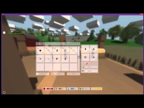 Unturned stone house tutorial advanced building how to for Door unturned