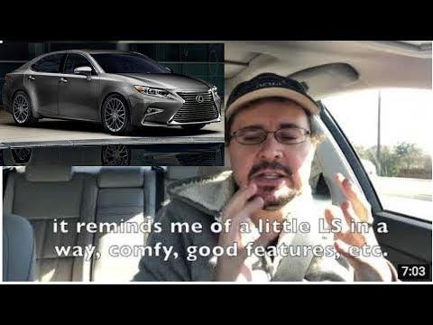 2018 Lexus ES 350 review- last pure luxury sedan?