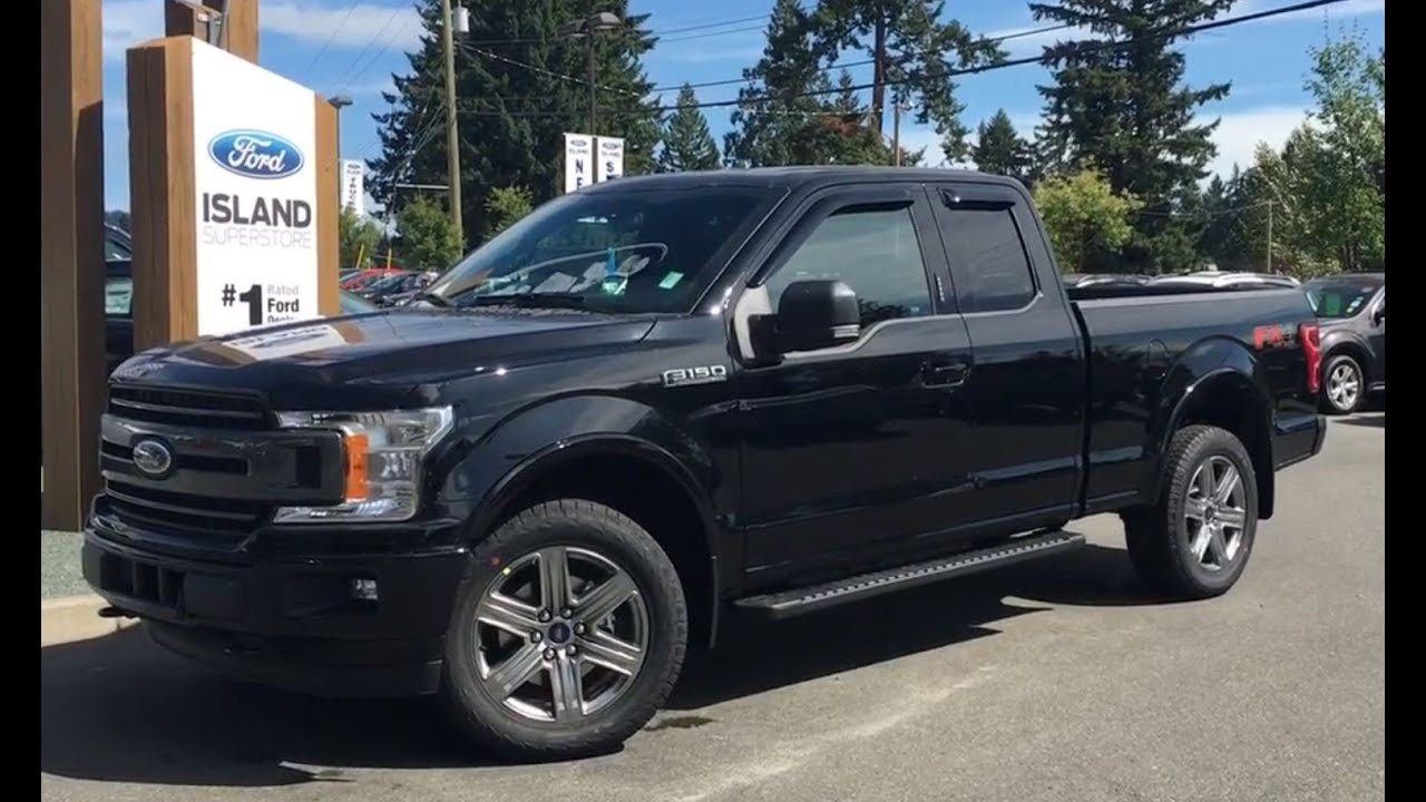 2018 Ford F 150 Xlt Fx4 Sport Ecoboost Supercab W Nav Review Island