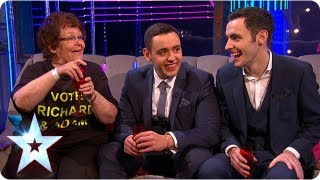 Stephen Mulhern chats with semi-final winners | Semi-Final 1 | Britain's Got More Talent 2013