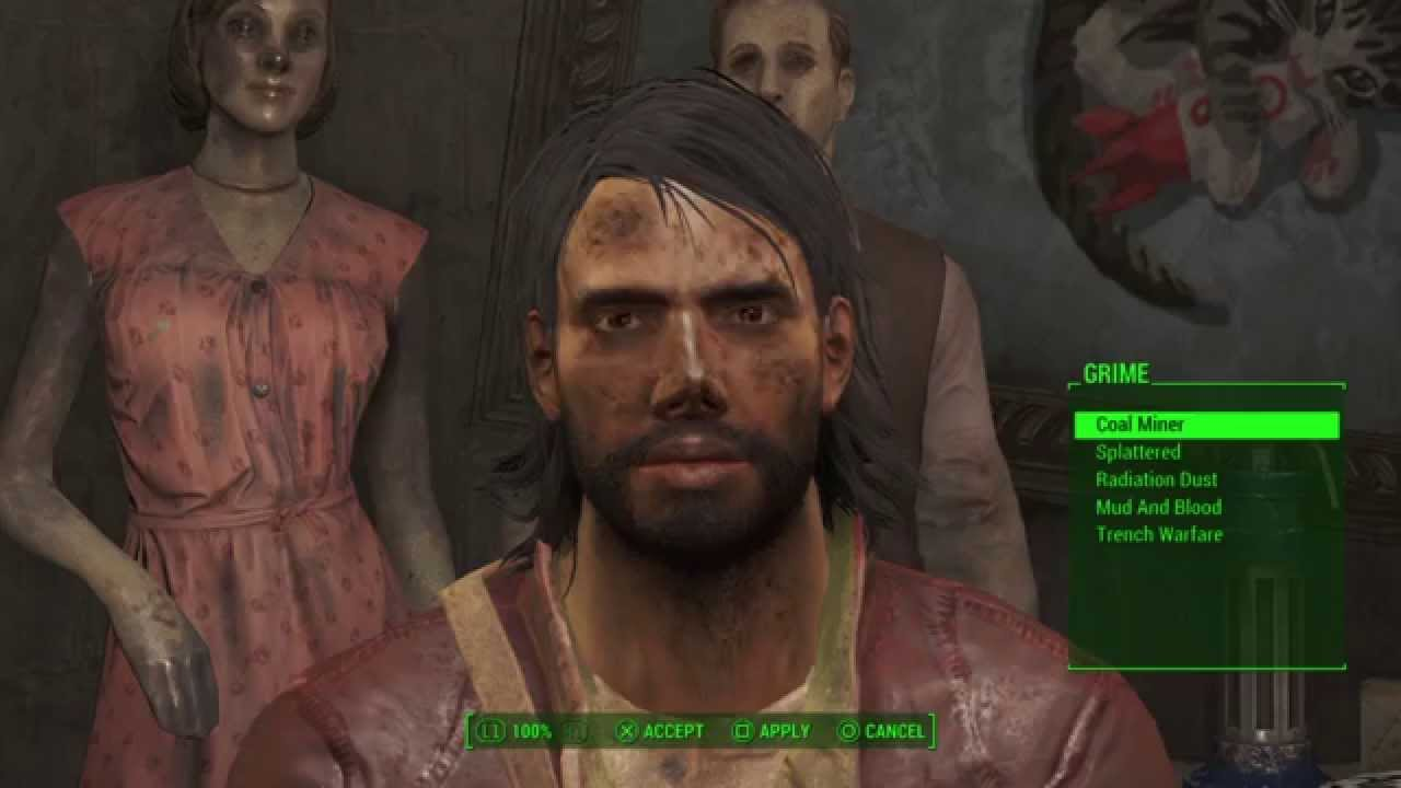 Fallout 4 command change appearance | change race/appreance