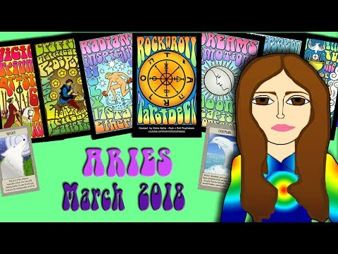 ARIES MARCH 2018 Time to shine! Tarot psychic reading forecast predictions - 동영상