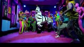 Shuffling zebra loop! from lmfao music video