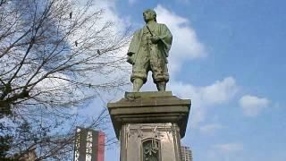 大国主神社・木津勘助の銅像