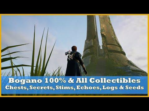 Bogano 100% Explored & All Collectibles - Star Wars Jedi: Fallen Order