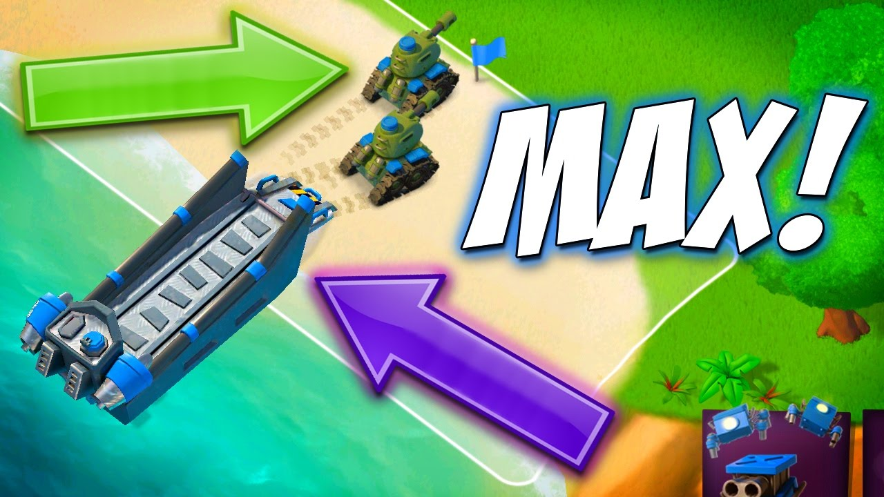 Boom Beach Landing Craft