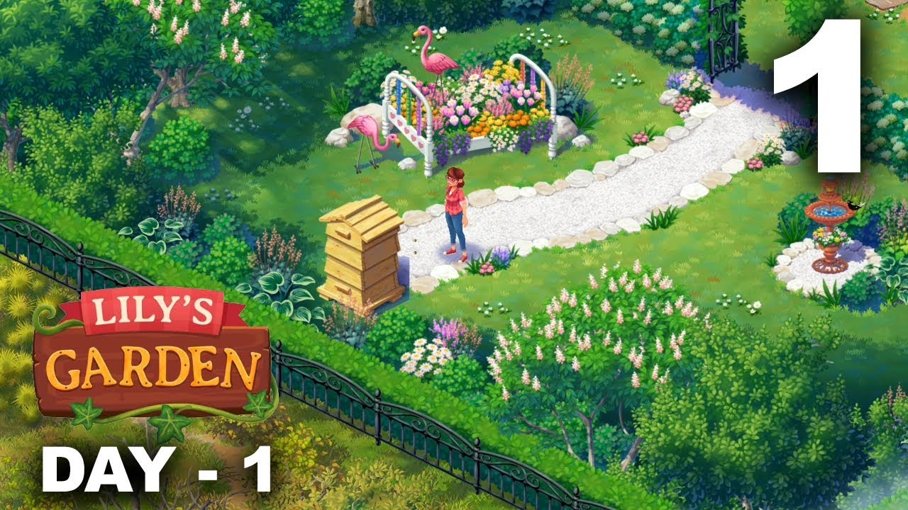 Lily S Garden Gameplay Walkthrough Part 1 Day 1 Ios Android