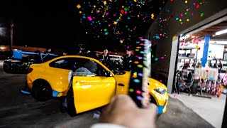 CONFETTI CANNON IN 3 CARS PRANK ON ALEX CHOI!