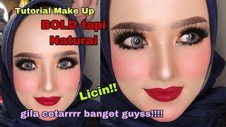 Tutorial Makeup Bold tapi tetap natural