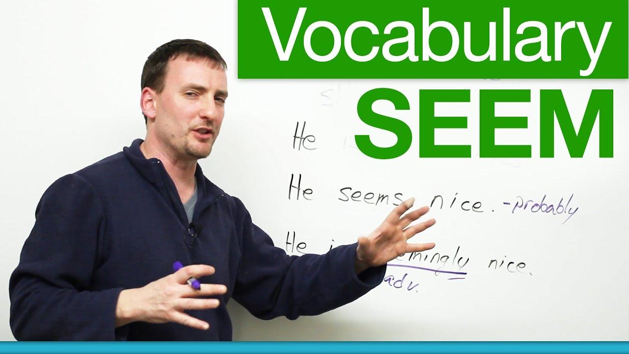 Download Basic English Vocabulary - SEEM